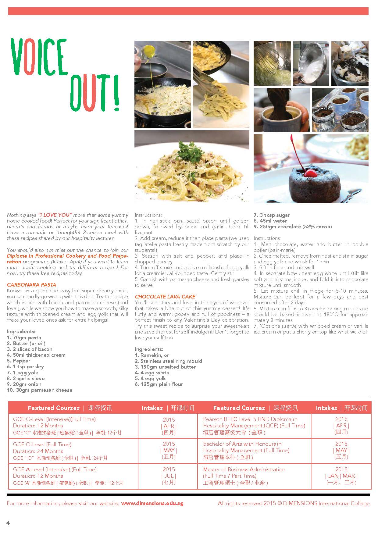 Newsletter Jan-Feb 2015 Page 4