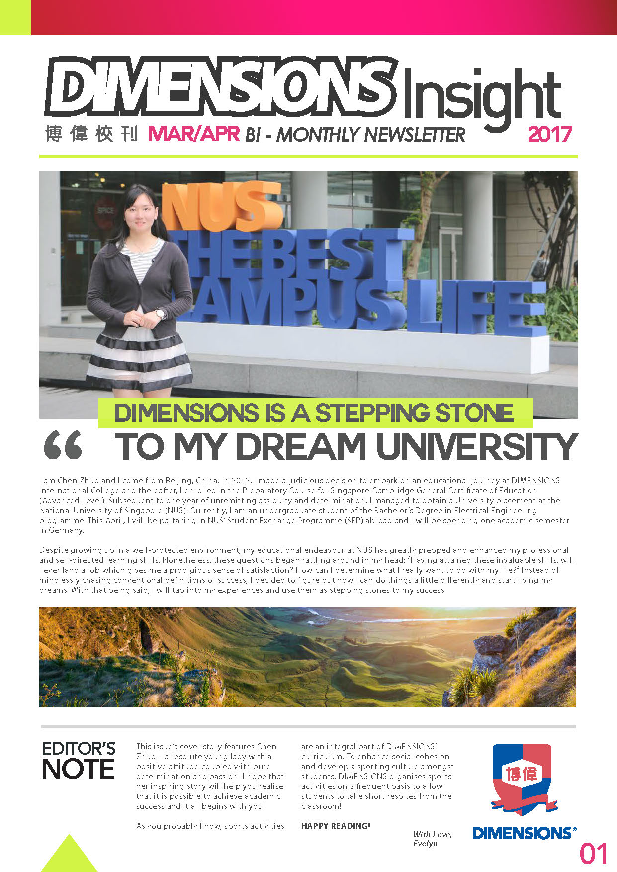 Newsletter Mar-Apr 2017 Page 1