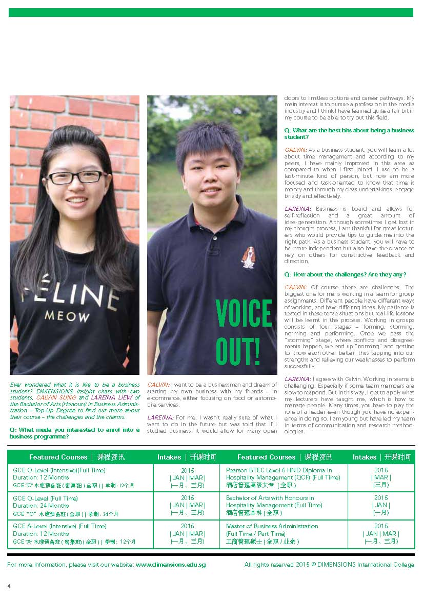 Newsletter Nov-Dec 2014 Page 4