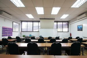 Fully Air-Conditioned Classrooms