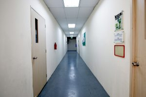 Child-Friendly Interior Corridors