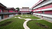 DIMENSIONS International College Kovan Campus – garden and school building