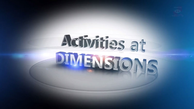 Activities at DIMENSIONS