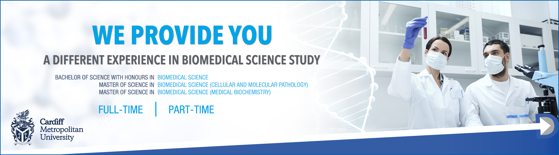 Full Time and Part Time Biomed Courses in Singapore