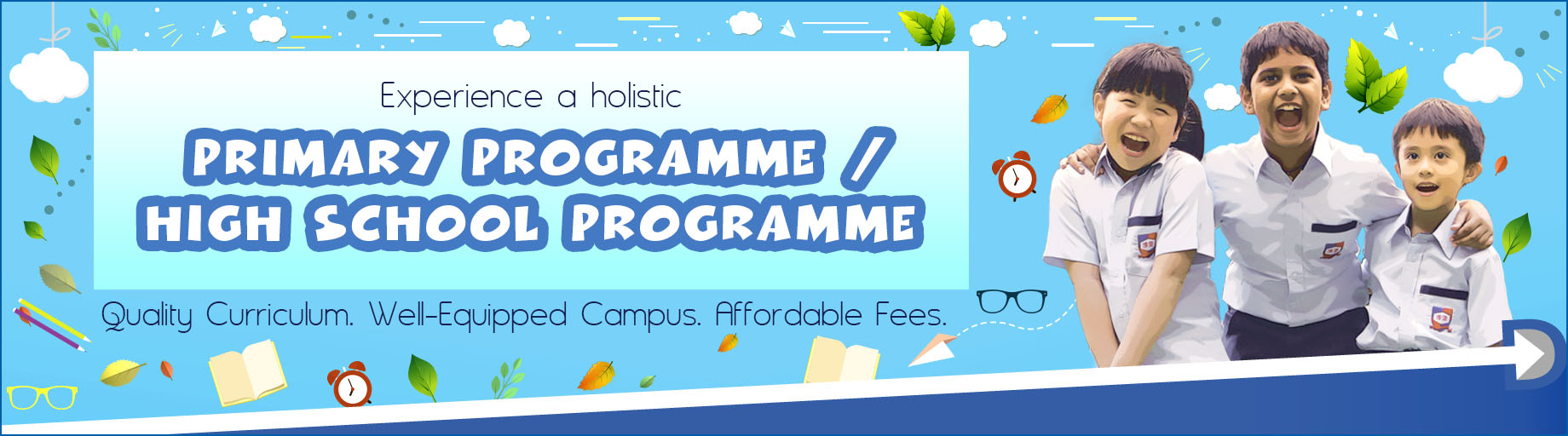 Experience a holistic Primary ProgrammeProgramme