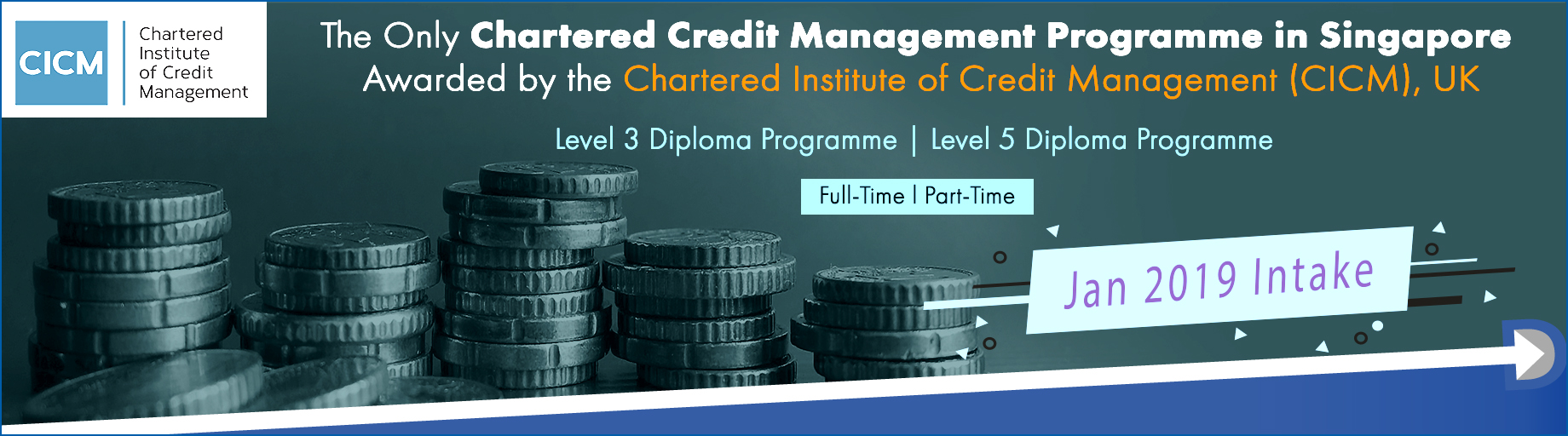 Full Time and Part Time Diploma in Credit Management Courses in Singapore