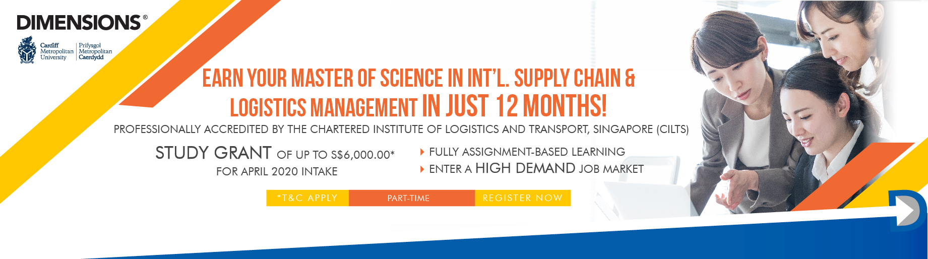 Master of Science in International Supply Chain and Logistics Management programme